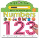 Image for Wipe Clean - Numbers
