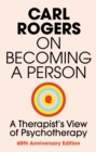 Image for On becoming a person  : a therapist's view of psychotherapy