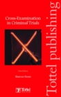 Image for Cross-examination in criminal trials