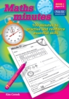 Image for Maths minutes  : 100 minutes to practise and reinforce essential skillsBook 1 : Book 1