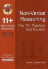 Image for 11+ Non-Verbal Reasoning Practice Papers: Standard Answers (for GL & Other Test Providers)