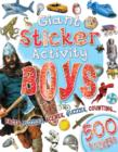 Image for Giant Sticker Activity Boys