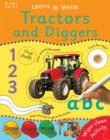 Image for Learn to Write With Tractors and Diggers