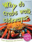Image for Why do crabs walk sideways?