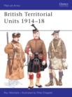 Image for British Territorial Units, 1914-18