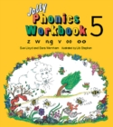 Image for Jolly Phonics Workbook 5 : in Precursive Letters (British English edition)