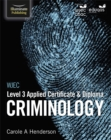 Image for WJEC Level 3 Applied Certificate & Diploma Criminology