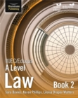 Image for WJEC/Eduqas Law for A Level: Book 2