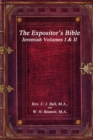 Image for The Expositor's Bible : Jeremiah Volumes I & II