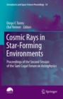 Image for Cosmic Rays in Star-Forming Environments: Proceedings of the Second Session of the Sant Cugat Forum on Astrophysics : 34