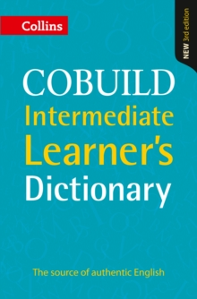 Collins COBUILD intermediate learner's dictionary -