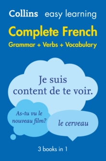 Easy learning complete French grammar, verbs and vocabulary