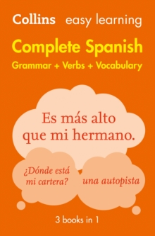 Easy learning complete Spanish grammar, verbs and vocabulary