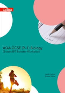 AQA GCSE biology 9-1Grade 8/9,: Booster workbook