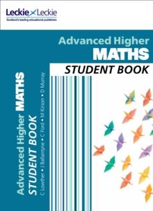 Cfe advanced higher maths: Student book