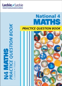 National 4 maths practice book - Leckie & Leckie