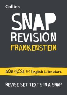 Frankenstein  : AQA GCSE English literature