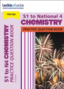 Image for S1 to National 4 chemistry practice question book