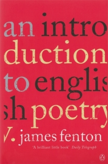 An introduction to English poetry - Fenton, James