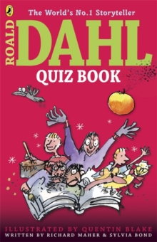 Roald Dahl quiz book - Maher, Richard