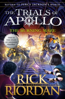 The burning maze - Riordan, Rick