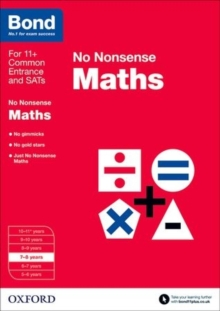Image for No nonsense maths7-8 years