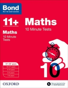Image for Maths11-12 years,: 10 minute tests