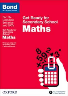 Image for Maths  : get ready for secondary school
