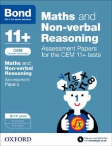 Image for Maths & non-verbal reasoning10-11 years: Assessment papers