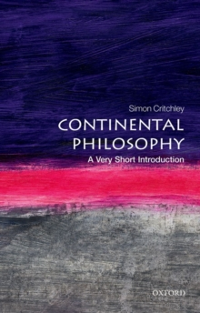 Image for Continental philosophy