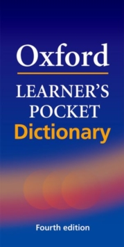 Oxford Learner's Pocket Dictionary : A pocket-sized reference to English vocabulary -