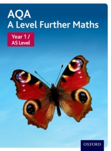 AQA A level further mathsYear 1/AS level,: Student book