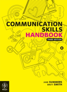 Communication skills handbook  : how to succeed in written and oral communication
