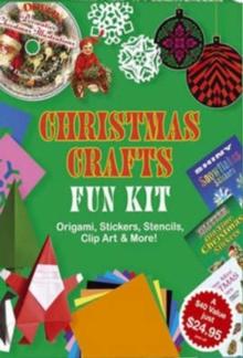 Christmas Crafts Fun Kit - Dover