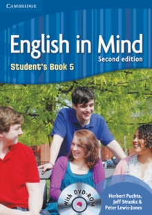 English in Mind Level 5 Student's Book with DVD-ROM - Puchta, Herbert