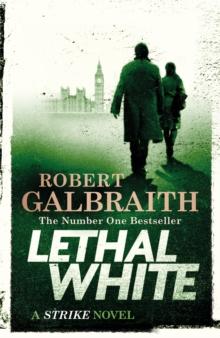 Lethal white - Galbraith, Robert