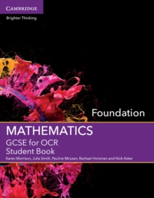 GCSE mathematics for OCRFoundation,: Student book