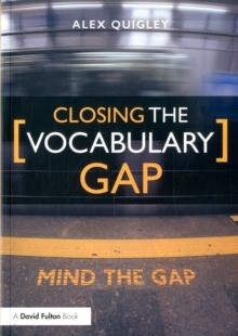 Closing the vocabulary gap - Quigley, Alex