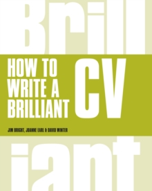 How to write a brilliant CV.