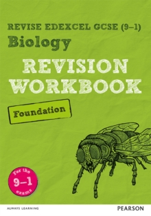 Biology  : for the 9-1 examsFoundation,: Revision workbook