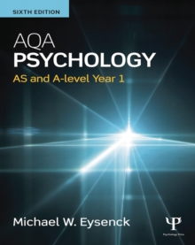 Image for AQA psychology: AS and A-level.