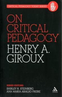 Image for On critical pedagogy