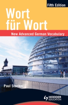 Image for Wort fur Wort: new advanced German vocabulary