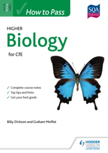 Image for How to pass Higher Biology for CfE