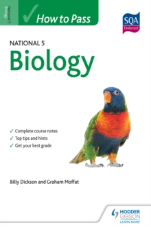 Image for How to pass National 5 biology