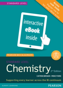 Image for Pearson Baccalaureate Chemistry Standard Level 2nd edition ebook only edition (etext) for the IB Diploma