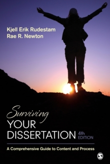 Surviving your dissertation  : a comprehensive guide to content and process