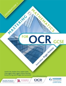 Mastering mathematics for OCR GCSEFoundation 1