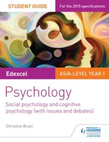 Image for Edexcel psychology student guide 1: social psychology and cognitive psychology