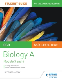 Image for OCR biology A.: biodiversity, evolution and disease (Exchange and transport)